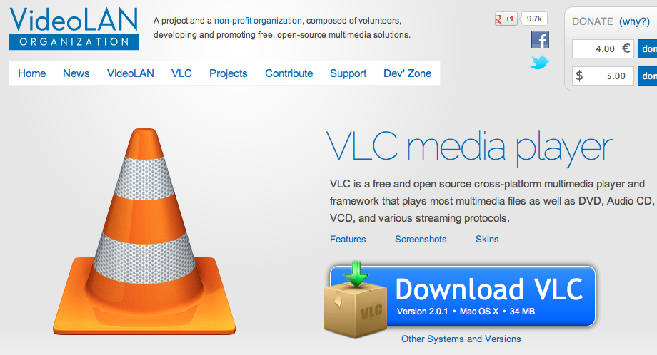 how to get vlc on mac