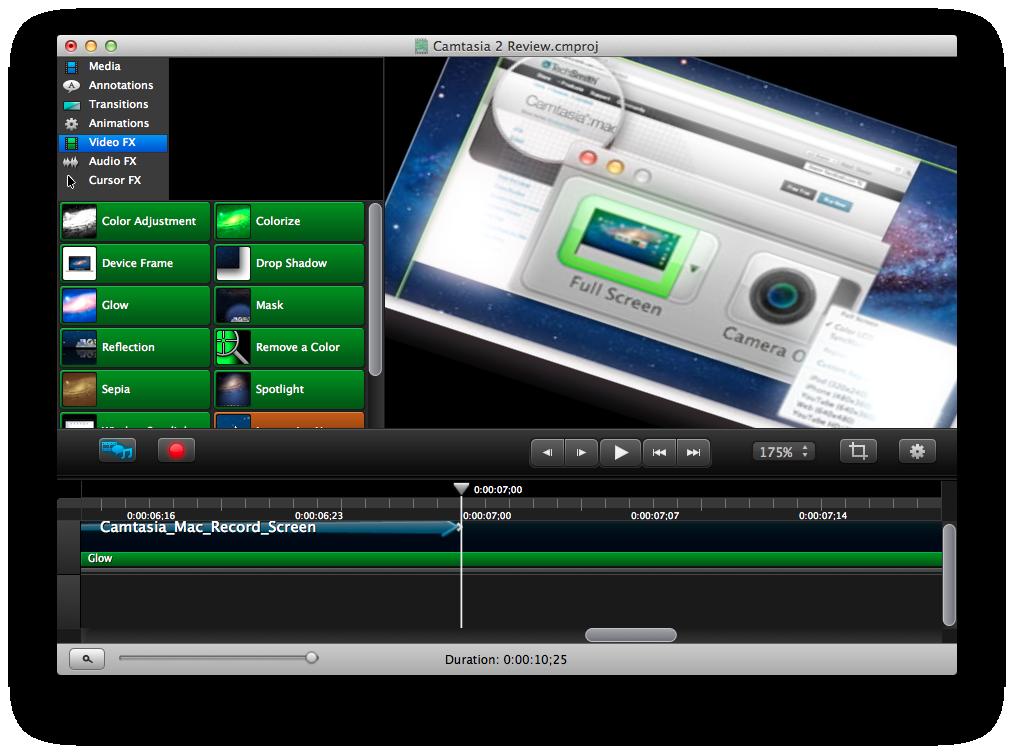 camtasia for mac 10.6.8