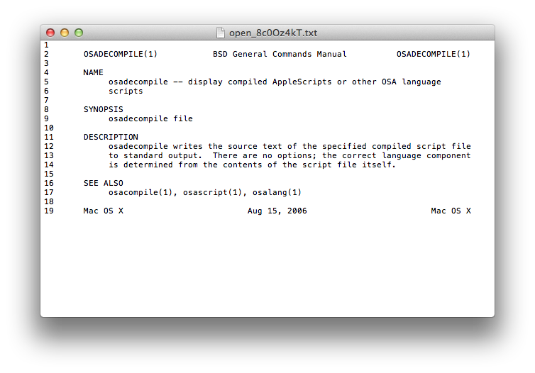 What is TextEdit?