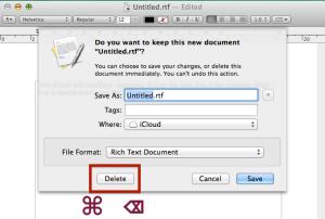 Discard unsafe document