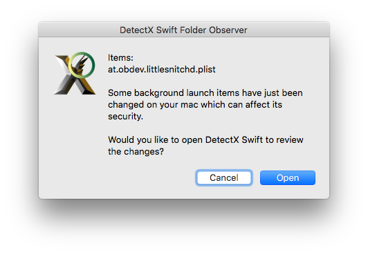 little snitch installer is damaged and can't be opened